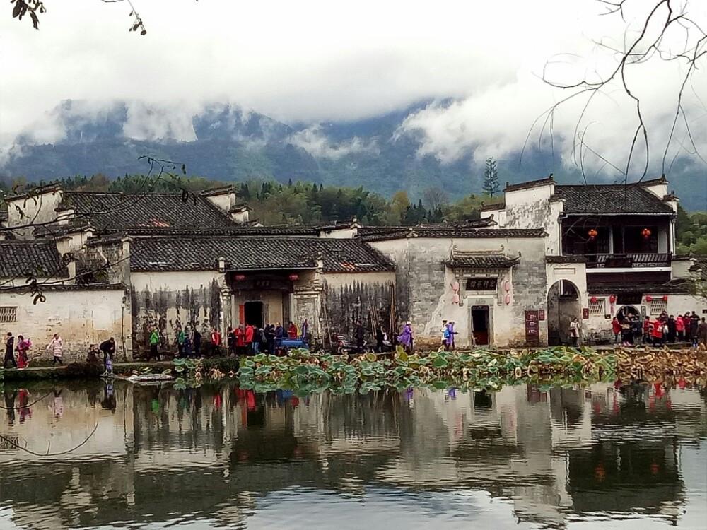 宏村,水墨山水画背后的风景